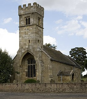 St Michaels Church, Cowthorpe Church in North Yorkshire, England