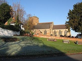 Mancetter - Image: St Peters Church Mancetter