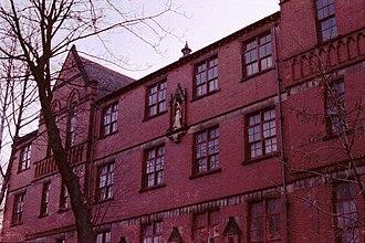 St Bede's College, Manchester - St Regis Building, Wellington Road