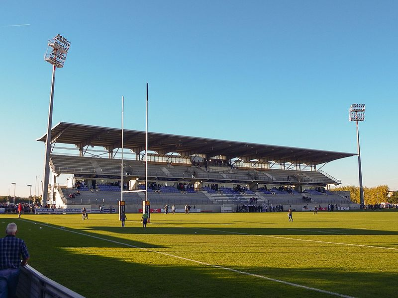 2016–17 Rugby Pro D2 season — 30 October 2016, Stade Michel Bendichou. Match between:  US Colomiers — US Dax