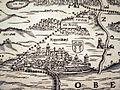 Stadtmuseum Rapperswil - 'Stadt in Sicht - Rapperswil in Bildern' - Jos Murers Karte des Zürcher Herrschaftsgebiets von 1566 (Ausschnitt) 2013-10-05 16-05-42 (P7700).JPG