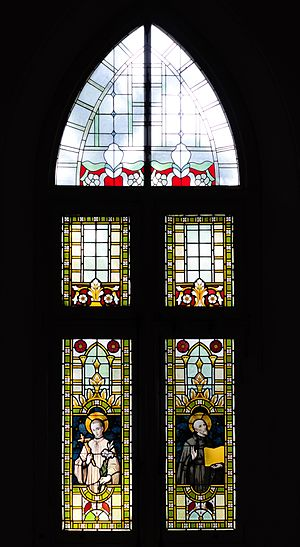 St. Joseph's Church, Semarang - One of the church's stained glass windows