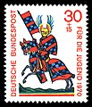 Stamps of Germany (BRD) 1970, MiNr 614.jpg