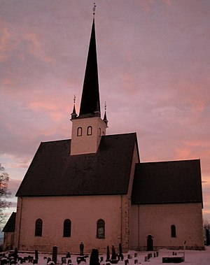 Stange - Stange church