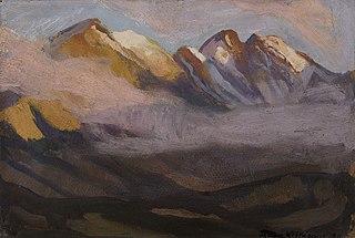 Pejzaż górski, Żółta Turnia - Granaty