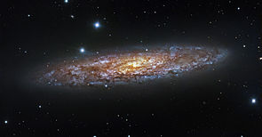 Starburst in NGC 253 (captured by ESO's 1.5-metre Danish telescope).jpg