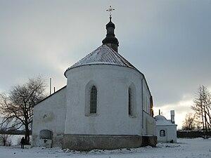 Starokostiantyniv - Image: Starokost`antyniv.Ce rkva Sv.Trijci
