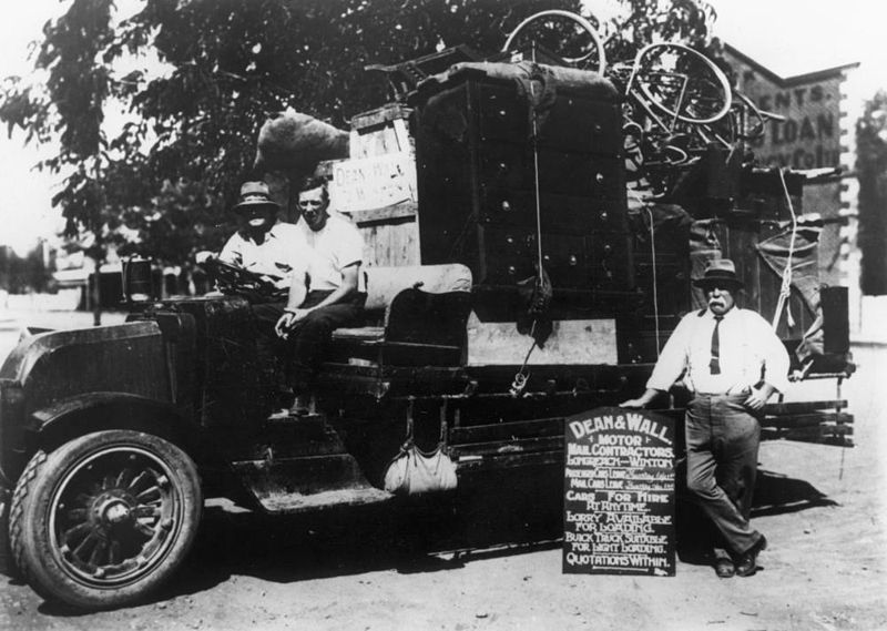 File:StateLibQld 1 151631 Dean and Wall, automobile contractors, Winton, 1921.jpg