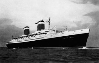 Blue Riband Unofficial accolade given to the passenger liner crossing the Atlantic Ocean westbound in regular service with the record highest speed