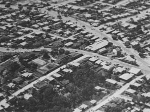 Annerley, Queensland - Aerial view of Annerley c.1934