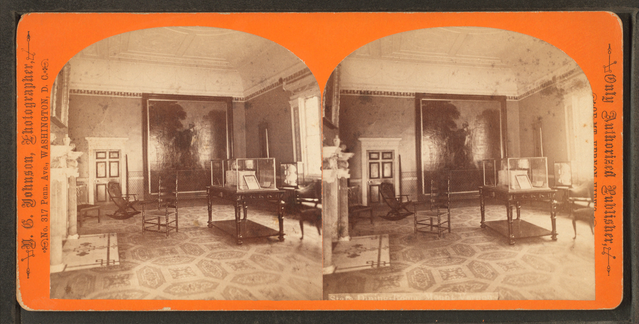 File:State dining room, Mount Vernon, by N. G. Johnson.png ...