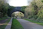 Station Road bridge, the Wirral Way, Thurstaston (geograph 2866064).jpg