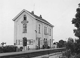 Het station in 1965