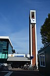 Station Weesp clock tower 2018 1.jpg