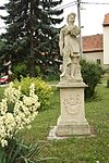 Statue of Saint Wendelin in Němčičky, Znojmo District.jpg