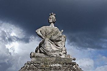 Statue of Strasbourg on place de la Concorde, Paris, France 2012.jpg