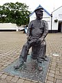 Statue of Yankee Jack, the Esplanade, Watchet - geograph.org.uk - 1715990.jpg