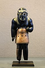 Statuette of a genie-AO 21104