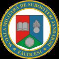 Stema Scolii Militare de Subofiteri Jandarmi Falticeni.png