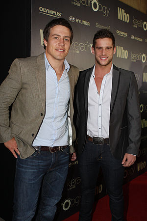 Casey Braxton - Steve Peacocke and Dan Ewing (pictured left to right) play Brax and Heath, who create a bad reputation for the Braxtons.