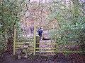 Stile and footbridge at German Lane - geograph.org.uk - 1159424.jpg