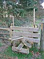 Stile at Damerham Knoll Damerham Hampshire - geograph.org.uk - 117858.jpg