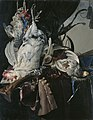 Still life with game and hunting gear, by Willem van Aelst.jpg