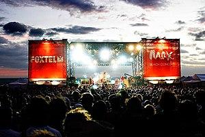 Dallas Crane - Dallas Crane, headlining St. Kilda Festival 2007