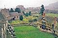 Stokesay, castle courtyard and parish church - geograph.org.uk - 499686.jpg