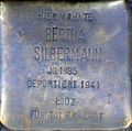 Stolperstein Köln, Bertha Silbermann (Brüsseler Straße 65).jpg
