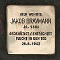 Stolperstein Palmstraße 13 Jakob Bravmann.jpg