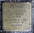 Stolperstein Schivelbeiner Str 49 (Prenz) Olga Kalmus.jpg