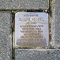 Stolperstein für Albert Hensel, Volkersdorfer Strasse 3, Dresden (1).JPG