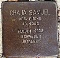 Stolperstein für Chaja Samuel.jpg