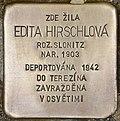 Stolperstein für Edita Hirschlova.jpg