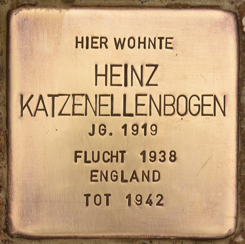 Stolperstein für Heinz Katzenellenbogen (Liebenwalde).jpg