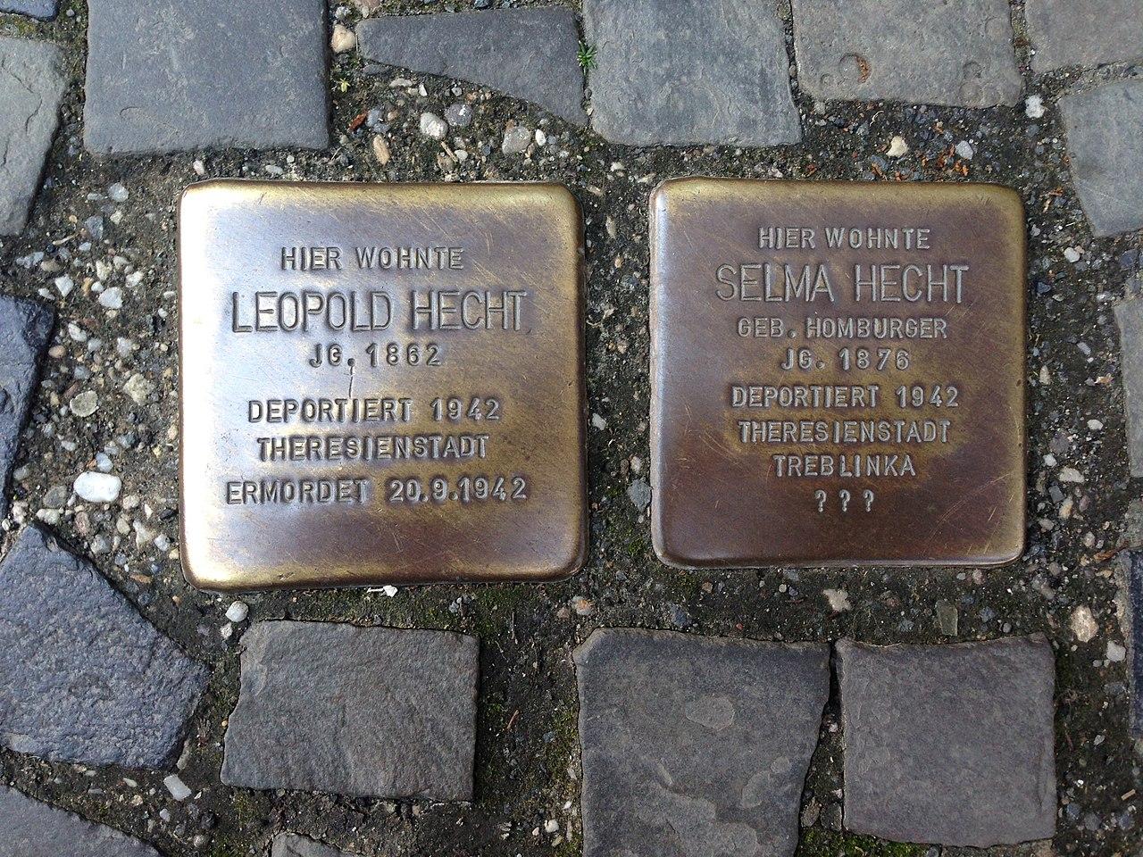 Stolpersteine Herborn Hauptstraße 80