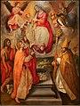 Stradano, madonna della cintola tra i ss. giovanni battista e nicola di bari, 1590 (montemurlo, san giovanni) 01.jpg