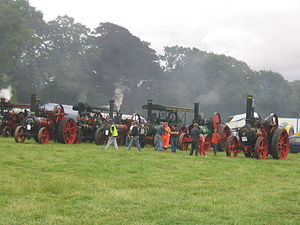 Stradbally - Stradbally steam rally