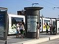 Strasbourg - Straßenbahn - Informationssäule.jpg