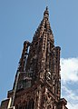 Strasbourg Cathedral - Towers Spire (7699288654).jpg