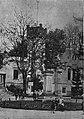 Strzelnica we Lwowie, zameczek, pomnik Jana III Sobieskiego (-1905).jpg