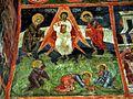 Sts. Theodore Tyron & Theodore Stratelates in Dobarsko Transfiguration Fresco 2.jpg