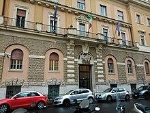 palazzina degli studi di Radio Rai in via Asiago n.10 a Roma