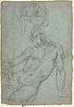 Studies of a Seated Nude Male Figure MET DP802059.jpg