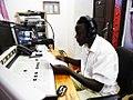 Studio za Kili FM, Moshi-Kilimanjaro, Oktoba 7 2012.jpg