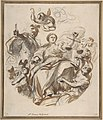 Study of Justice Dispensing Rewards to the Arts (recto); Study of a Lunette and Spandrel (verso) MET DP809467.jpg