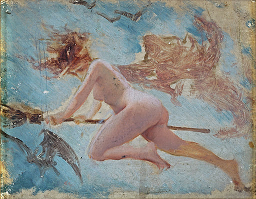 Study of a Witch, by Luis Ricardo Falero