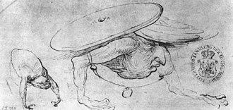 Hieronymus Bosch drawings - Image: Studyof Monsters