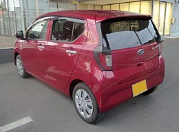 Subaru PLEO+ L Smart Assist (DBA-LA350F) rear.jpg